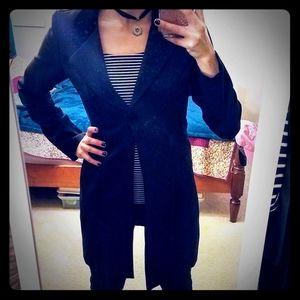 Women's Black Vintage Tailcoat Size 5/6